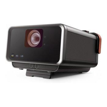 Проектор Viewsonic X10-4K, DLP, Ultra HD (3840x2160), 3000000:1, 2400 lm, HDMI, VGA, RJ-45, Micro SD, Bluetooth, USB image