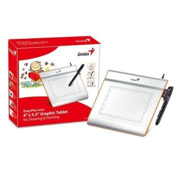 Графичен таблет Genius EasyPen i405X, 2540 lpi, 1024 нива на натиск, USB image