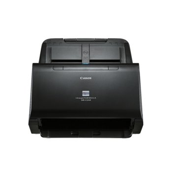 Скенер Canon imageFORMULA DR-C240, 600x600dpi, A4, двустранно сканиране, ADF, USB image