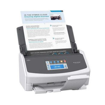 Скенер Fujitsu ScanSnap iX1500, преносим скенер, Duplex, до 30ppm, 600dpi, до A4, ADF, безжични, USB image