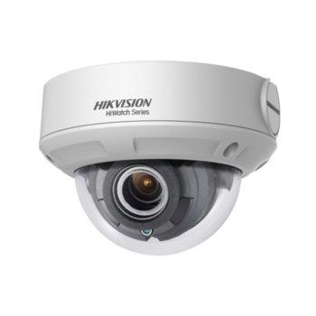 IP камера HikVision HWI-D620H-V, куполна камера, 2Mpix(1920x1080@25fps), 2.8/12 mm обектив, IR осветеност (до 30 м), H.265+, H.265, H.264+, H.264, външна IP67, IK10, PoE, RJ-45 image