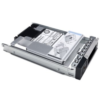 "Памет SSD 480GB Dell 400-BCOD, SAS 12Gb/s, 2.5""(6.35 cm) image"