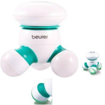 Масажор за цяло тяло Beurer MG 16, LED светлина, бял/зелен image