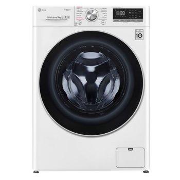 Перална машина LG F4WN609S1, клас A+++, 8 кг. капацитет, 1400 оборота, 14 програми, свободностояща, 60 cm ширина, бяла image