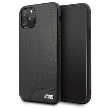Калъф за Apple iPhone 11 Pro, еко кожа, BMW M BMHCN58MHOLBK, черен image