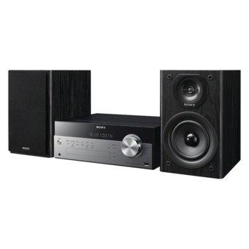 Аудио система Sony CMTSBT100, CD, FM, USB, Bluetooth, 50W (RMS) image