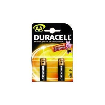 Батерии алкални Duracell Basic AA, 1.5V, 2 бр. product