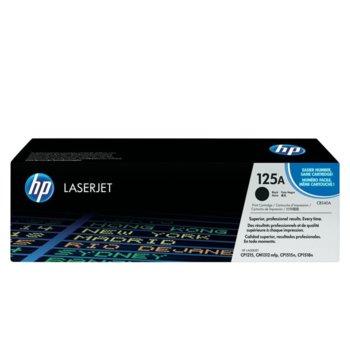 КАСЕТА ЗА HP COLOR LASER JET CP1215/1515N/1518/CM1312 - Black - P№ CB540A - заб.: 2200 брой копия image