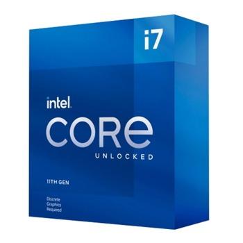 Процесор Intel Core i7-11700KF, осемядрен (3.6/5.0 GHz, 16MB, LGA1200) Box, без охлаждане image