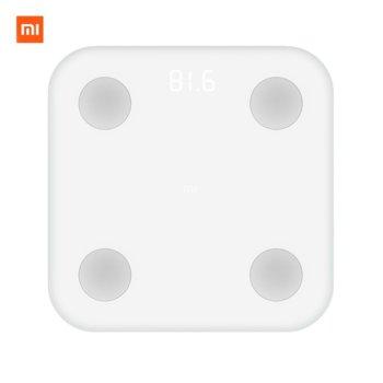 Цифров кантар Xiaomi Mi BodyComposition Scale, капацитет до 150кг., LED дисплей, Bluetooth, бял image