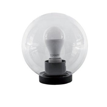 LED градинско осветително тяло Elmark EM96400023A60LED, 15W, 4000-4300K, IP44, Монтаж на метален стълб image
