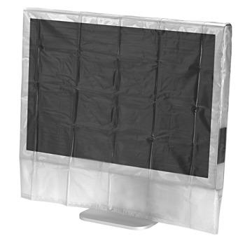 """Протектор за монитор HAMA Dust Cover (113817), за монитори от 24"""" до 26"""", защита от прах, мръсотия и течности, устойчив на скъсване материал image"""