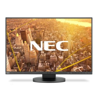 """Монитор NEC EA241F (60004786), 23.8"""" (60.45 cm)IPS панел, Full HD, 5 ms, 5000:1, 250 cd/m2, DisplayPort, HDMI, DVI-D, VGA image"""
