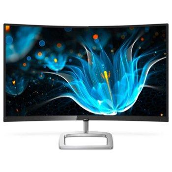 """Монитор Philips 278E9QJAB, 27""""(68.58 cm) VA панел, Full HD, 4ms, 20000000:1, 250 cd/m2, VGA, DisplayPort, HDMI image"""