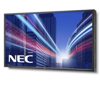 "Публичен дисплей NEC MultiSync X554HB, 55""(139.7 cm), UHD S-PVA LED, VGA, HDMI, DVI-D, DisplayPort, LAN image"