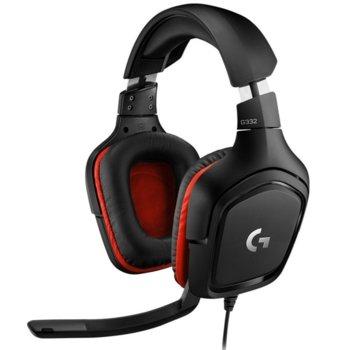 Слушалки Logitech G332, микрофон, гейминг, черни image