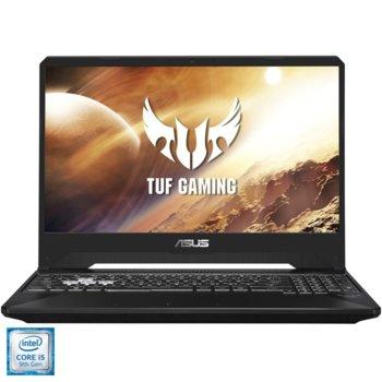 "Лаптоп Asus TUF FX505GT-BQ144 (90NR02M2-M04130), четириядрен Coffee Lake Intel Core i5-9300H 2.4/4.1 GHz, 15.6"" (39.62 cm) Full HD IPS Anti-Glare Display & GF GTX 1650 4GB (HDMI), 16GB DDR4, 512GB SSD PCIe, 2x USB 3.1, NO OS, 2.2kg image"