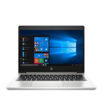 "Лаптоп HP ProBook 430 G7 (2D351EA)(сребрист), четириядрен Comet Lake Intel Core i5-10210U 1.6/4.2 GHz, 13.3"" (33.78 cm) Full HD Anti-Glare Display, (HDMI), 8GB DDR4, 512GB SSD, 1x USB 3.1 Type-C, Free DOS image"