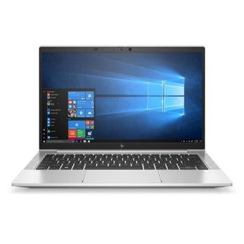 "Лаптоп HP EliteBook 830 G7 (8PV72AV_32882192)(сребрист), четириядрен Comet Lake Intel Core i7-10510U 1.8/4.9 GHz, 13.3"" (33.78 cm) Full HD IPS Display, (HDMI), 16GB DDR4, 512GB SSD, 2x USB 3.1 Type-C, Windows 10 Pro image"