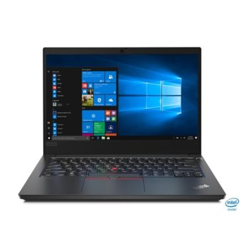 "Лаптоп Lenovo ThinkPad Edge E14 (20RA001LBM/3), четириядрен Comet Lake Intel Core i7-10510U 1.8/4.9 GHz, 14.0"" (35.56 cm) Full HD IPS Display & Radeon RX 640 2GB, (HDMI), 16GB DDR4, 512GB SSD, 1x USB 3.1 Type C, Windows 10 Pro  image"
