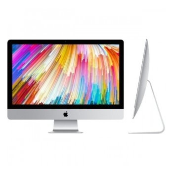 "All in One компютър Apple iMac (MNED2ZE/A), 27"" (68.58) Retina 5K дисплей, четириядрен Intel Kaby Lake Core i5-7600K 3.8GHz/4.2GHz, AMD Radeon Pro 580 8GB, 8GB DDR4, 2TB Fusion Drive, 4 x USB 3.0, безжична клавиатура и мишка, macOS Sierra image"