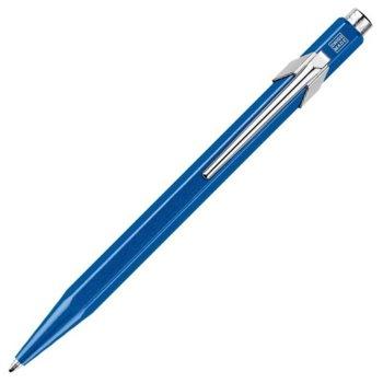 Химикалка Caran d'Ache 849 Pop Line Collection - Metallic Line, синьо мастило, син image
