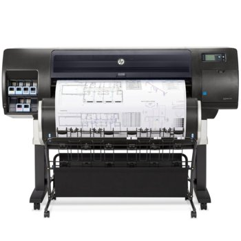 Плотер HP Designjet T7200, 2400 x 1200 dpi, 15.5 sec/page, HDD 320 GB image