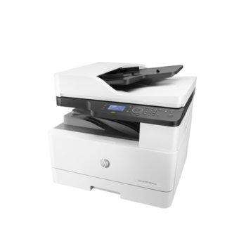 Мултифункционално лазерно устройство HP LaserJet MFP M436nda W7U02A, монохромен, принтер/копир/скенер, 1200 x 1200, 23 стр/мин, LAN, USB, A3 image