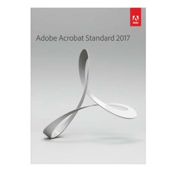 Софтуер Adobe Acrobat Std 2017, Windows, AOO image