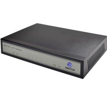 Dinstar DAG 1000-4O, VoIP Централа/Gateway, 4x аналогов вход/изход image