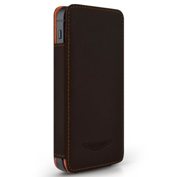 Aston Martin Leather Case iPhone SE (5S)- brown product