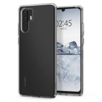 Kалъф за Huawei P30 Pro, силиконов, Spigen Liquid Crystal case L37CS25726, прозрачен image