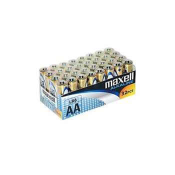 Батерия алкална Maxell ML-BA-LR6-32PK, AA, LR6, 1.5V, 32бр. image