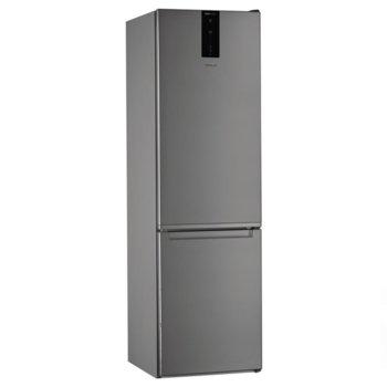 Хладилник с фризер WHIRLPOOL W7 911O OX, клас А+, 368 л. общ обем, свободностоящ, 355 kWh/годишно, бутон за бързо охлаждане, No Frost система, инокс image