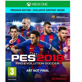 Pro Evolution Soccer 2018 Premium Edition product