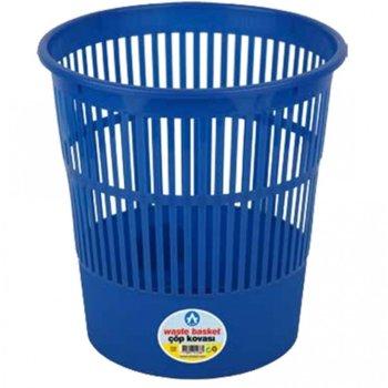 Кошче за отпадъци, 12L, синьо image