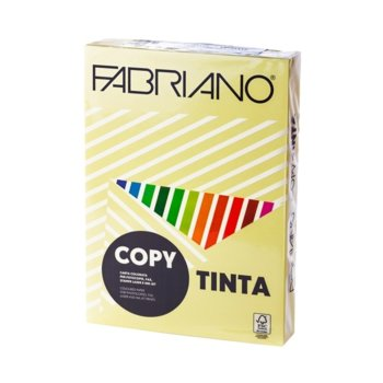 Копирен картон Fabriano, A4, 160 g/m2, банан, 250 листа image