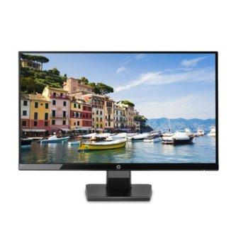 """Монитор HP 24w (1CA86AA), 23.5"""" (59.69 cm) IPS панел, Full HD, 5 ms, 250 cd/m2, 5 000 000:1, HDMI, VGA  image"""