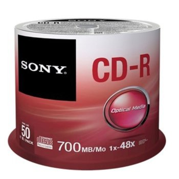Sony CDR 48x 50pcs spindle product