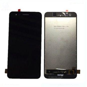 Дисплей за LG K4 (2017) M160 LCD original, с тъч, черен image