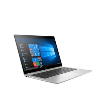 "Лаптоп HP EliteBook x360 1040 G6 (7KN65EA)(сребрист), четириядрен Whiskey Lake Intel Core i7-8565U 1.8/4.6 GHz, 14"" (35.56 cm) Full HD Anti-Glare IPS Touchscreen Display, (HDMI), 16GB DDR4, 512GB SSD, 2x Thunderbolt, Windows 10 Pro  image"