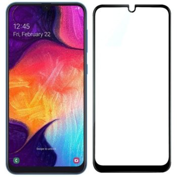 Протектор от закалено стъкло /Tempered Glass/ за Samsung Note 10, 5D, Full Glue image
