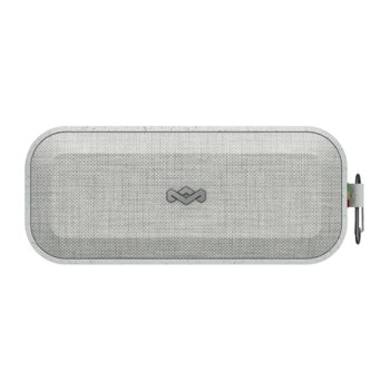 Тонколона House of Marley No Bounds XL (EM-JA017-GY), преносима, Bluetooth/AUX/USB, сива, водоустойчива, вградена батерия image