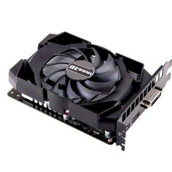 Видео карта Nvidia GeForce GTX 1050 TI, 4GB, Inno3D Compact X1, PCI-E 3.0, GDDR5, 128 bit, 1x Display Port, 1x HDMI, 1x DVI image