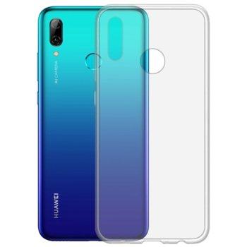 Калъф за Huawei, P Smart 2019, силиконов гръб, очертаващ оригиналните извивки на устройството, прозрачен image