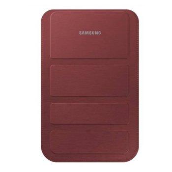 "Калъф Samsung за таблет до 7""(17,78 см), ""бележник"", поставка, универсален, червен image"