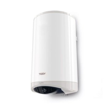Електрически бойлер Tesy ModEco Cloud (GCV 150 47 24D C21 ECW), Wi-Fi, 143 л., 2400 W, стъклокерамично покритие, 47.0 x 131.5 x 49.6 cm, бял image
