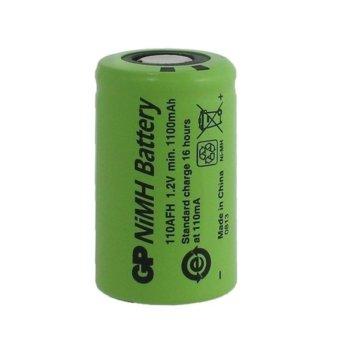 Акумулаторна батерия GP BATTERIES, NiMH, 110AFHO-B, 1.2V 1100 mAh, 1бр image