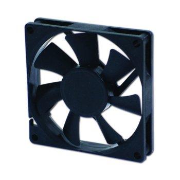 Вентилатор 80мм EverCool EC8015M12EA, EL Bearing, 3 Pin Molex, 2500rpm image