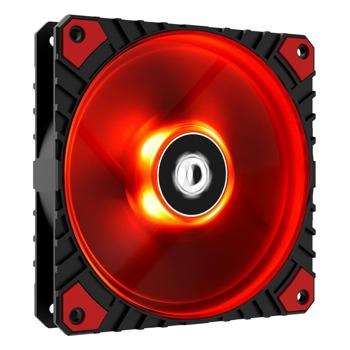 Вентилатор 120mm, ID-Cooling (WF-12025-XT-R), 4-pin, 2200 rpm, червена подсветка image